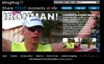 Our homepage for a single, special day. On May 22nd, 2004, our co-founder, Chris 'Baldy' MacAskill, finished his first IronMan triathlon. So we took over the homepage for the day. Got a f ...