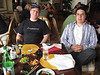 "<a href=""http://scobleizer.wordpress.com/"">Robert Scoble</a> and <a href=""http://www.ensight.org/"">Jeremy Wright</a> having Mojitos and sushi at the <a href=""http://www.ritzcarlton.com/resorts/half_moon_bay/default.html"">Ritz-Carlton Half Moon Bay</a> for Scobal's inaugural <a href=""http://scobleizer.wordpress.com/2006/08/19/the-mojito-show-next-saturday-at-2-pm-is-next-taping/"">Mojito Show</a>.  :)"