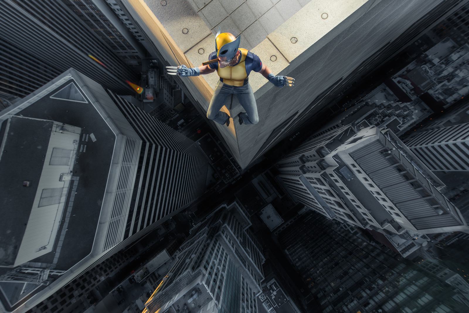 Don on a Skyscraper
